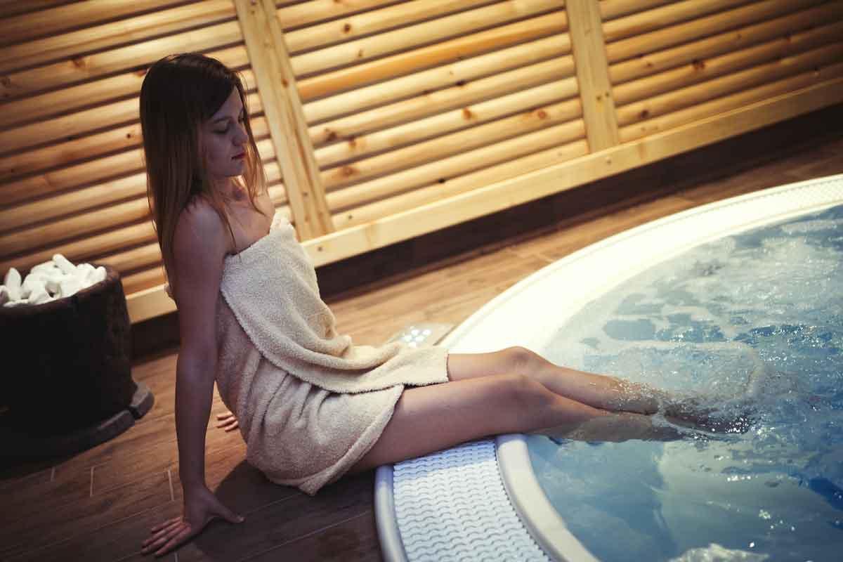 whirlpool in hotel
